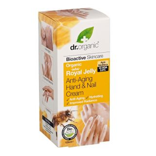 Dr Organic Royal Jelly Antiaging Hand & Nail Cream - 125ml