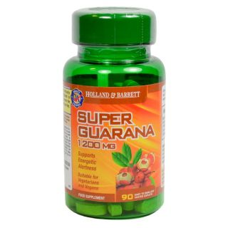 Holland & Barrett Súper Guaraná 1200mg - 90 Comprimidos