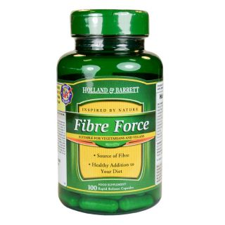 Holland & Barrett Fibre Force - 100 Capsules