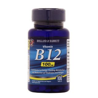 Holland & Barrett Vitamin B12 100μg - 100 Tablets