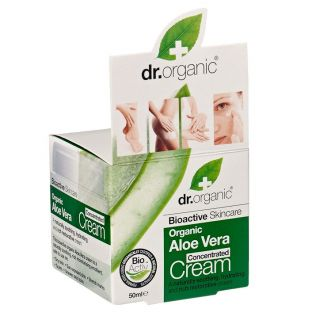 Dr Organic Aloe Vera Concentrated Cream - 50ml