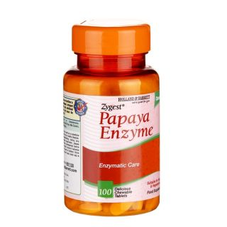 Holland & Barrett Enzima de Papaya Masticable  - 100 Comprimidos