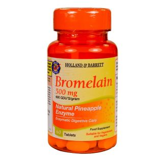 Holland & Barrett Bromelain 500mg - 60 Tablets