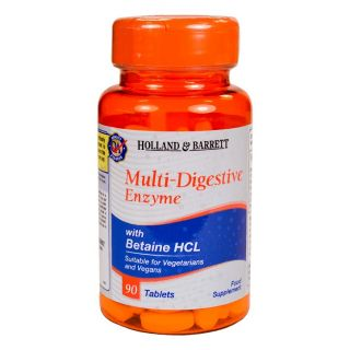 Holland & Barrett Multi-Digestive Enzyme - 90 Tablets