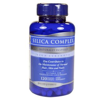 Holland & Barrett High Strength Silica Complex - 120 Caplets