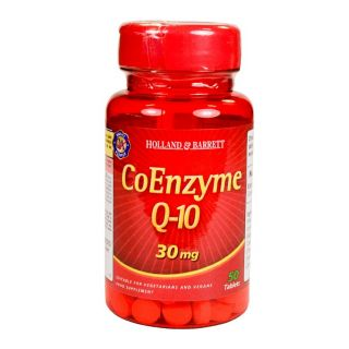 Holland & Barrett Co-Enzyme Q-10 30mg - 50 Tablets