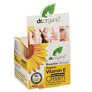 Dr Organic Vitamin E Cream - 50ml