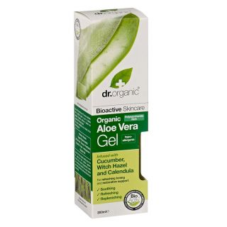 Dr Organic Aloe Vera Gel with Cucumber - 200ml