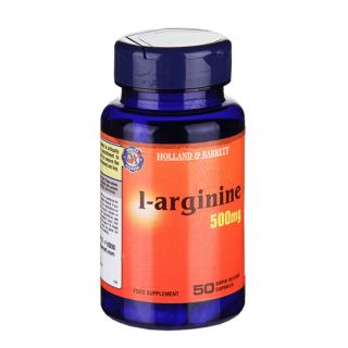 Holland & Barrett L-Arginine 500mg - 50 Capsules