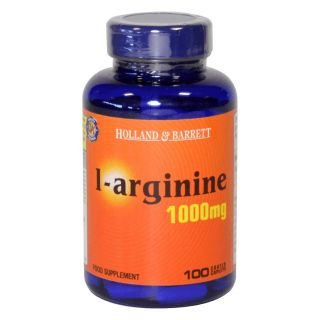 Holland & Barrett L-Arginine 1000mg - 100 Caplets