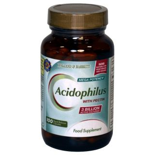 Holland & Barrett Acidophilus con Pectina - 100 Cápsulas