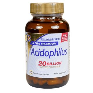 Holland & Barrett Ultra Maximum Acidophilus - 60 Cápsulas
