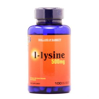 Holland & Barrett L-Lysine 500mg - 100 Caplets