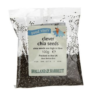 Holland & Barrett Clever Chia Seeds - 100g