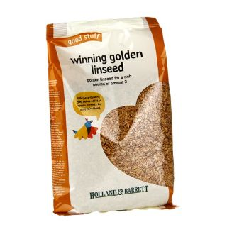 Holland & Barrett Winning Golden Linseed - 500g