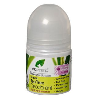 Dr Organic Tea Tree Deodorant - 50ml