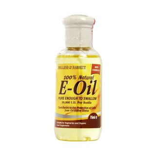 Holland & Barrett 100% Natural E Oil - 75ml