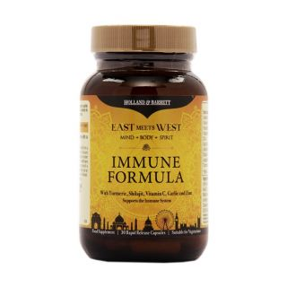 Holland & Barrett East Meets West Immune Formula - 30 Capsules