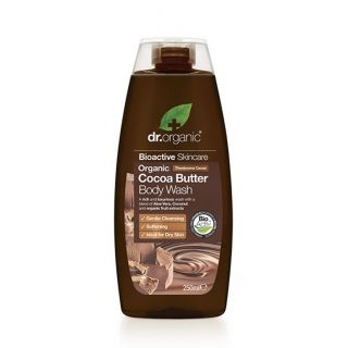 Dr Organic Cocoa Butter Body Wash - 250ml