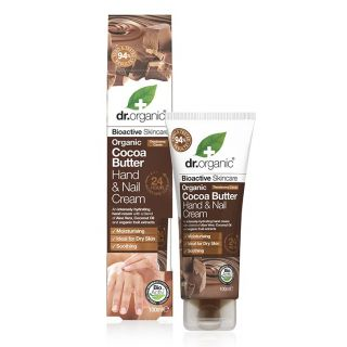 Dr Organic Cocoa Butter Hand & Nail Cream - 100ml