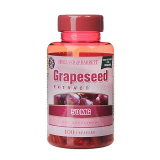 Holland & Barrett Grapeseed Extract 50mg - 100 Capsules