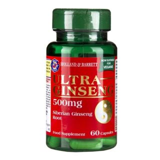 Holland & Barrett Ultra Ginseng 500mg - 60 Cápsulas