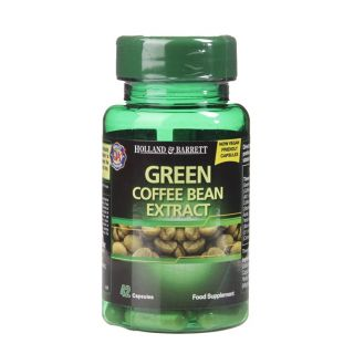 Holland & Barrett Green Coffee Bean Extract 400mg - 42 Capsules