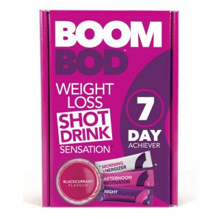 Boombod 7 Day Achiever Blackcurrant Flavour