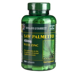 Holland & Barrett Saw Palmetto 450mg - 200 Capsules