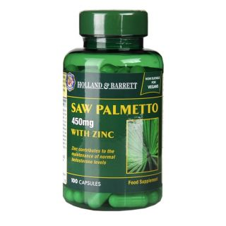Holland & Barrett Saw Palmetto 450mg - 100 Capsules