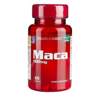 Holland & Barrett Maca 500mg - 60 Cápsulas