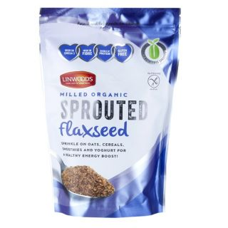 Linwoods Milled Organic Sprouted Flaxseed - 360g