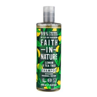 Faith in Nature Champú de Limón y Arbol de Té 400ml