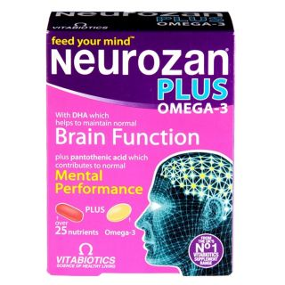 Vitabiotics Neurozan Plus - 56 Tablets