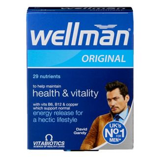 Vitabiotics Wellman - 30 Tablets
