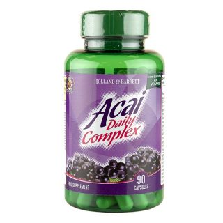 Holland & Barrett Acai Daily Complex 1000mg - 90 Capsules