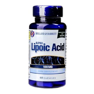 Holland & Barrett Alpha Lipoic Acid 100mg - 60 Capsules