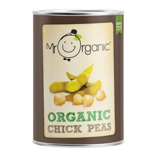 Mr Organic Organic Chickpeas -  400g