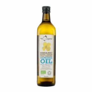 Mr Organic Organic Extra Virgin Cold Pressed Rapeseed Oil - 750ml