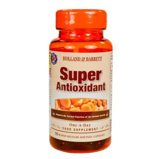 Holland & Barrett Super Antioxidant Formula - 50 Capsules
