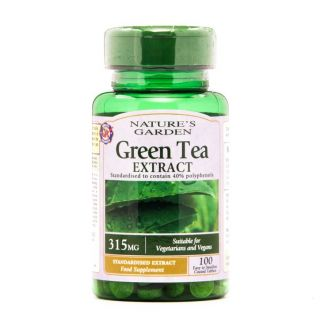 Nature's Garden Green Tea Extract 315mg - 100 Tablets