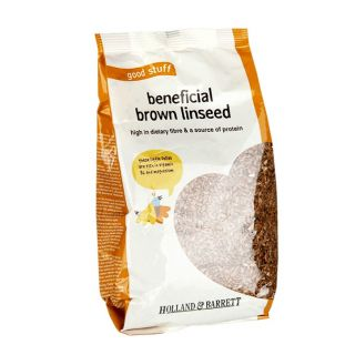 Holland & Barrett Beneficial Brown Linseed - 500g