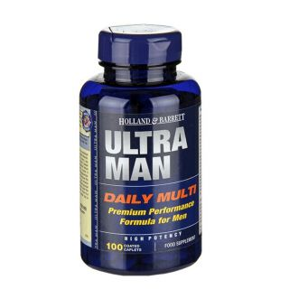 Holland & Barrett Ultra Man - 100 Comprimidos