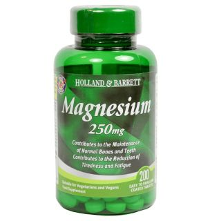 Holland & Barrett Magnesium 250mg - 200 Tablets