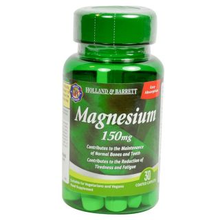 Holland & Barrett Magnesium 150mg - 30 Caplets