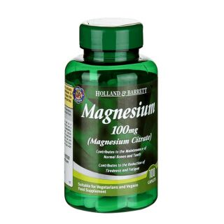 Holland & Barrett Magnesium Citrate 100mg - 100 Caplets