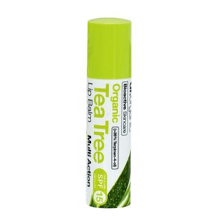 Dr Organic Tea Tree Lip Balm - 5.7ml